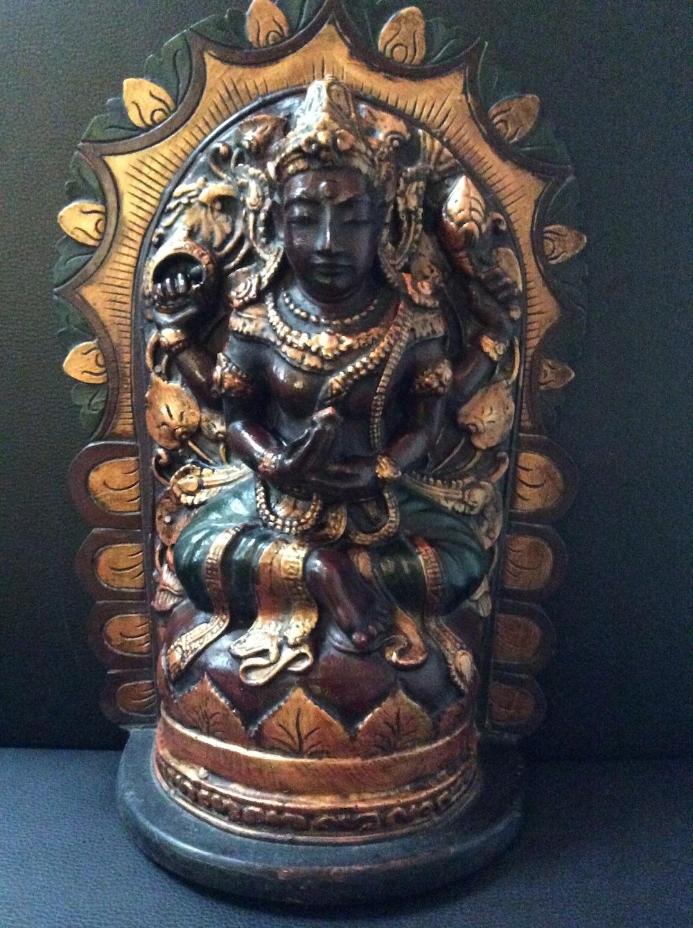 Boeddha ornament goud