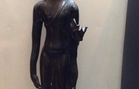 Boeddha staand zwart