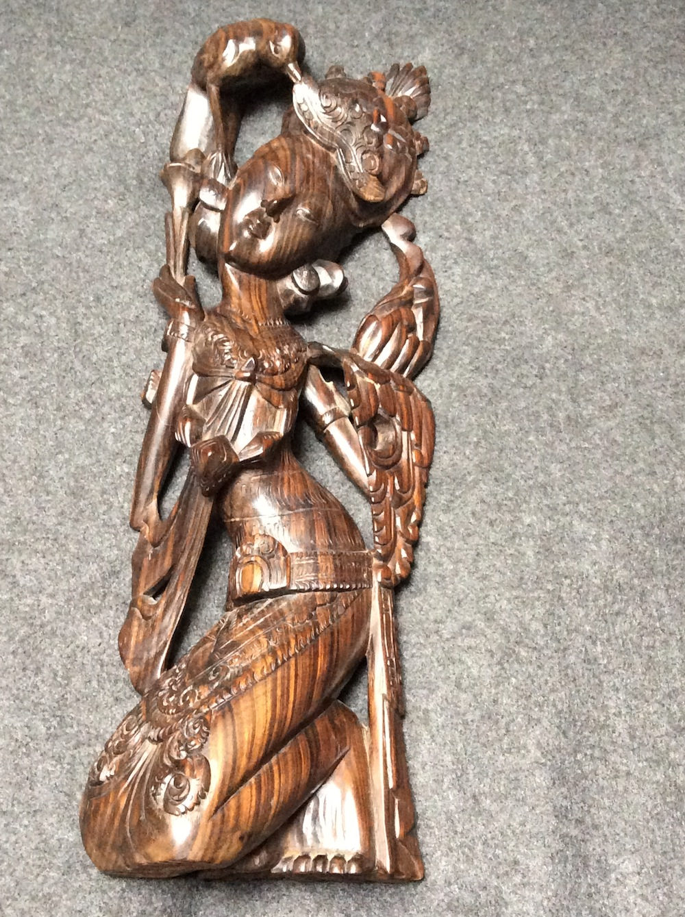 Boeddha vrouw hout